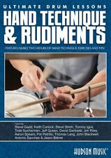 Hand Technique & Rudiments Ultimate Drum Lessons Series DVD NEW 000111675