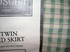 CROSCILL CHARLESTON GARDEN TWIN BED SKIRT NEW