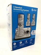 AT&T EL52319 3 Handset Cordless Phone/Answering System/Caller ID/Call Waiting