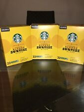 Limited Ed Starbucks Blonde Sunrise Blend K Cups 66ct Pods