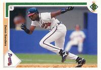 Deion Sanders 1991 Upper Deck #743 Atlanta Braves baseball Card