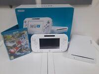 Nintendo Wii U Console with Mario Kart 8 - White 8GB Handheld System Mariokart 8