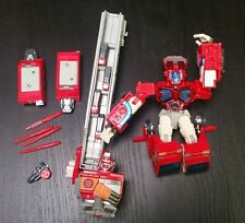 Transformers Cybertron RID Ultra Class Super Fire Convoy Optimus Prime