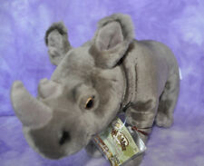 Webkinz Signature Rare Endangered Black African Rhinoceros ~Brand Nwt ~ Wkse3014