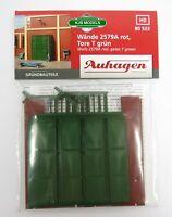 BNIB OO HO AUHAGEN 80533 WALLS 2579A, + GREEN DOORS T