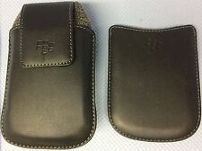 Original BlackBerry Swivel Holster, Leder + BlackBerry Einstecktasche Curve 8900