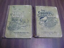 Seed Sower (1897) & The Search Light (1894) Sunday Schools & Gospel meetings