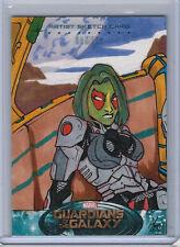Gamora 2014 UD Marvel Guardians of the Galaxy Sketch Card GOTG Anthony Gay 1/1