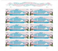 Cherry Blossoms Forever Stamps - Sheet of 20 Stamps Scott 4651-52