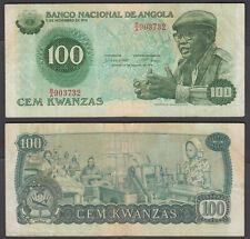 Angola 100 Kwanzas 1979 (VF) Condition Banknote KM #111