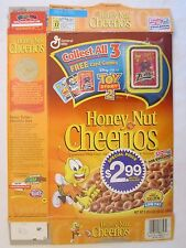 GENERAL MILLS Cereal Box 2000 Honey Nut Cheerios TOY STORY 2 Card Game ZURG!