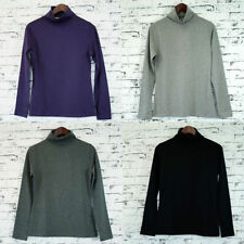 Unbranded Polyester Casual Turtleneck Tops for Women