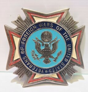 Veterans Of Foreign Wars Of The United States VFW Belt Buckle (A)