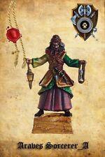 Shieldwolf Miniatures Araves Infantry Sorcerer A