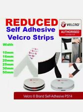 Genuine VELCRO® Brand PS14 Self-Adhesive Hook & Loop Tape Fastener All Sizes!!!