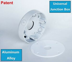 Universal Security Camera Mount Junction Box For Most Bullet & Dome camera