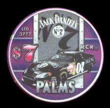 $7 Las Vegas Palms Jack Daniels NASCAR 2007 Casino Chip - Uncirculated
