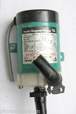 Iwaki Magnet Pump MD-10-NL16 cap11/12 head1.5/2.1 100V 2800/3100rpm - USED E38M
