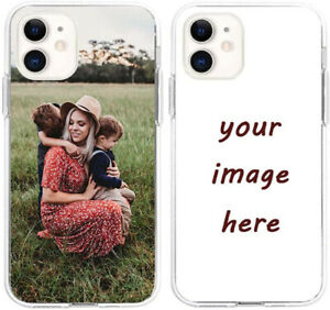 Personalized Clear Transparent TPU Case Cover Custom For Samsung Galaxy Note 20