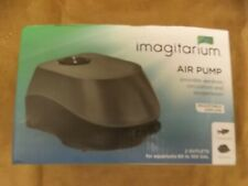 NEW Imagitarium Aquarium Air Pump 2 Outlet 60-100 Gal Aerate Circulate Oxygenate