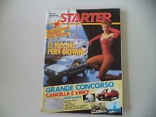 STARTER 26/1985 FERRARI 412 I CABRIOLET PAVESI/DUCATI PANTAH 750 F1