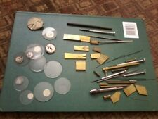 LOT OF WATCHMAKERS TOOLS. Inc precision swiss files, pin vice etc. FINAL PRICE