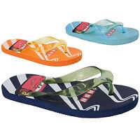 boys DISNEY flip flops slippers character kids cartoon RSN print sandals summer