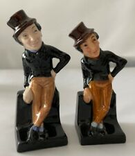 2 Royal Doulton Dickens Character Figurine First Series Jingle And Newer Version