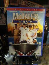 McHale's Navy (DVD) 1997 Tom Arnold & Debra Messing - WS CC Unique Blue Case OOP