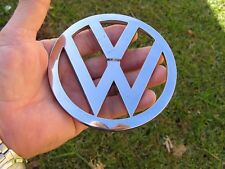 VW VOLKSWAGEN 110mm BADGE Chrome Emblem * NEW FACTORY 2ND *