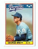 1988 Topps UK Minis #7 George Brett Kansas City Royals