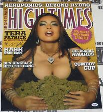 Tera Patrick Signed 16x20 Photo PSA/DNA COA High Times Magazine Cover Poster XXX