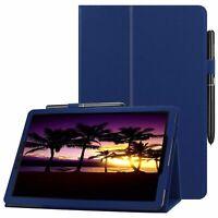 Für Samsung Galaxy Tab A SM-T595 T590 10.5 Book Cover Slim Case Tasche Hülle