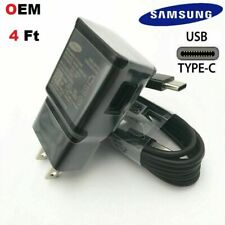 ORIGINAL SAMSUNG GALAXY NOTE10 S8 S9 S10+ FAST WALL CHARGER USB-C Type-C  CABLE