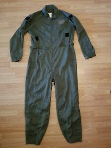 USAF Military Flight suit coveralls flyers cwu-27/p  size xl-long 46-48