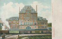 VANCOUVER BC – New C.P.R. Railroad Depot