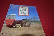 Gehl 309 312 315 322 329 322Truck Mounted Manure Spreader Dealers Brochure DCPA