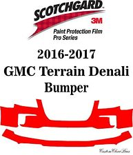 3M Scotchgard Paint Protection Film Pro Series Bra 2016 2017 GMC Terrain Denali