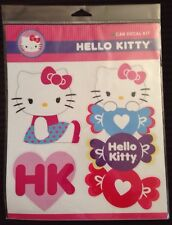Hello Kitty car decal stickers laptop cute pink bow heart cat