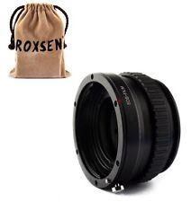 Canon EOS EF mount lens To Fujifilm X-Pro1 E2 FX Adapter macro focusing helicoid