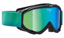 Alpina Ski Goggles Spice Mm Multi Mirror Black Green Mirrored 2018