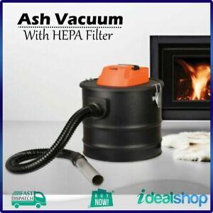 Scandia Ash Vacuum and Blower - Heavy duty steel drum, Fireproof HEPA filter NEW