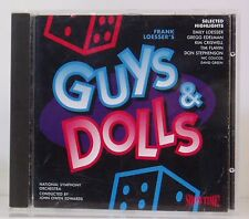 CD Frank Loesser's Guys & Dolls NSO Edwards  Showtime 1995