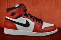 CLEAN Nike Air Jordan 1 Retro High OG Chicago Size 5.5 Y GS 332558-163 Banned