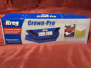 Kreg Crown-Pro Miter Saw Jig/Eliminates Coping! Angle Finder Included! Brand New