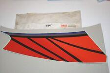 nos Yamaha snowmobile RIGHT SIDE HOOD EMBLEM 4 1994 BLACK VMAX  8AB-77354