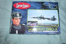 More details for captain scarlet zero x model kit aoshima - extremely rare