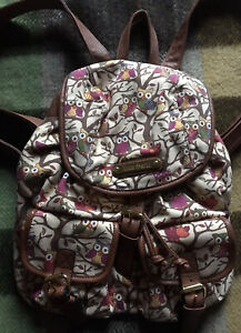 Owl Backpack/rucksack By Anna Smith
