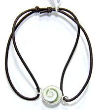 Bracciale Occhio di Santa Lucia elastico regolabile argento 925%°° NERO