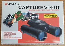 SIMMONS CAPTUREVIEW WATERPROOF DIGITAL CAMERA & 8 X 30 BINOCULAR - NEW